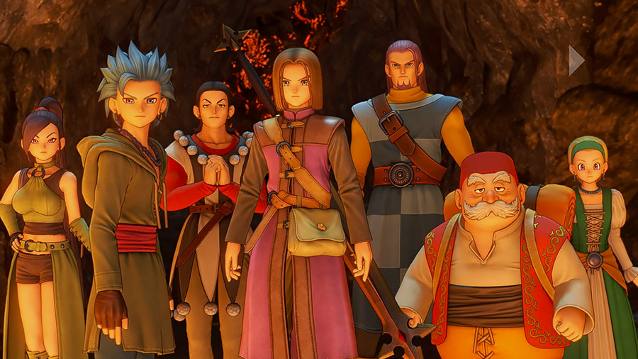 Dragon Quest XI - équipe