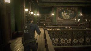 Resident Evil 2 «1-shot» demo - bibliothèque