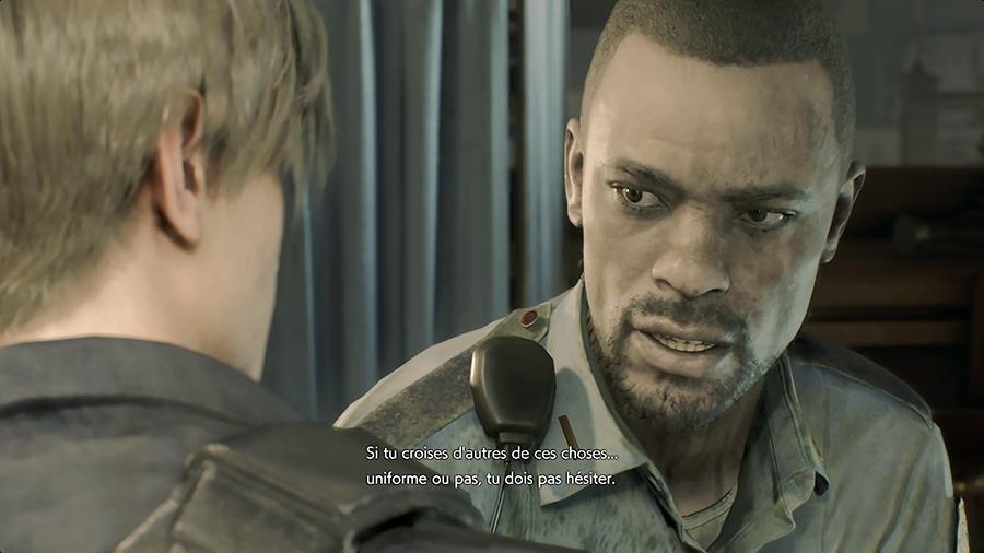 Resident Evil 2 «1-shot» demo - Marvin