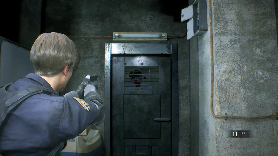 Resident Evil 2 «1-shot» demo - zombie