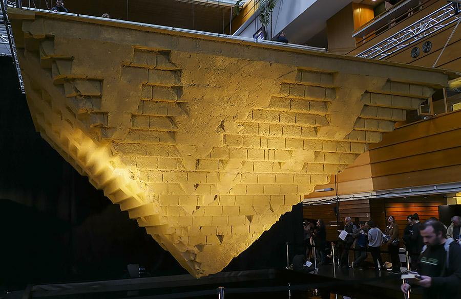 Le dernier Pharaon - pyramide