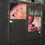 16emes Rencontres de l'imaginaire de Sèvres - expo Didier Graffet - Manchu